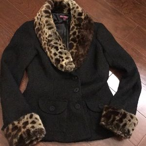 Jacket by Betsy Johnson collection.